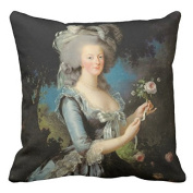 Marie Antoinette With A Rose 1783 Pillow Case