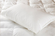 Comfortable hotel pillow core / fluffy pillow / washed cotton/single , white