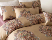 High - grade bedding set/satin-like cotton fabric bed cover , 1.8m