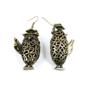 60 Pairs Jewellery Making Charms Supply Supplies Wholesale Fashion Earring Backs Findings Ear Hooks L7FE7 Owl Doctor