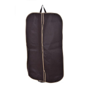Garment Covers Zipper Clothes Bags Suit Dress Coat Garment Storage Travel Carrier Bag Cover Hanger Protector,Coffee