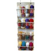 Over The Door Storage/Organiser-White