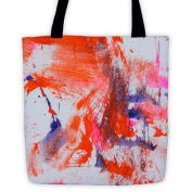 Big Cat Rescue - Tiger Paw Painting Tote Bag
