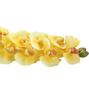 Outtop 70cm Orchid Artificial Flowers Bouquets Real Touch Fake Flower for Home and Wedding Decoration