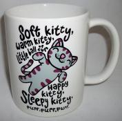 Inspired By The Big Bang Theory Soft Kitty Ceramic Mug