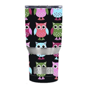 Skin Decal Vinyl Wrap for RTIC 590ml Tumbler Cup Skins Stickers Cover / Cute Owls