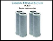 Compatible to Campbell DW-CMR 23cm - 1.9cm 1 Micro Filter Cartridge, 4 Pack by CFS