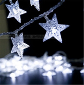 SHHE Star Battery Fairy String Lights 5M 40 LED Decorative Lighting for Home Wedding Birthday Indoor Outdoor Use