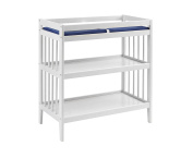 Westwood Design Echo Changing Table with Pad, White