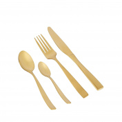 Home Collection Gold 'Radiance' 16 Piece Cutlery Set