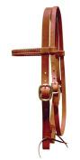 Berlin Custom Leather Headstall Hermann Oak Browband Draught H1011