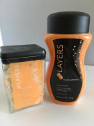 Scentsy Layers Sunkissed citrus washer whiffs and bath tablets set