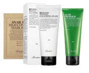 Benton Aloe Propolis Soothing Gel & Benton Cleansing Foam with 2 Benton Masks