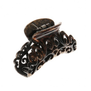 Icing Brown and Black Speckled Hair Claw