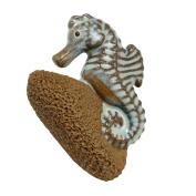Ceramic Bath Foot Exfoliator 'Pedicure Friend Seahorse'