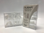 Nubar Professional Salon Quality Strength Clear Nail Tips