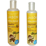 Jason Kids Only! All Natural Extra Gentle Shampoo & Conditioner by Jason Natural
