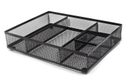 EasyPAG Mesh Collection Desk Accessories Drawer Organiser, Black