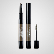 Kiss Ny Pro Top Brow Sculpting Pencil - Taupe
