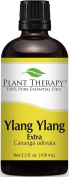 Plant Therapy Ylang Ylang Extra Essential Oil. 100% Pure, Undiluted, Therapeutic Grade. 100 ml (3.3 oz).