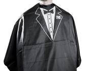 MD Barber Tuxedo Cape (White)