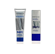 Barc Cutting Up, Unscented Shave Cream, 180ml + Barc Bump Down Razor Bump Relief, Alcohol-Free, Unscented Lotion, 50ml + Makeup Blender