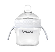 Baby Brezza Transition Cup with Handles, White, 150ml