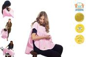 Organic Multipurpose Nursing Cover - Pink / Rose