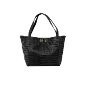 Rosie Pope Nappy Bag, Warren Tote, Black