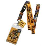 "Harry Potter LA3MNVHPT ""Hogwarts"" Lanyard with Pendant"