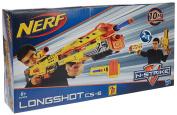 NERF N-STRIKE LONGSHOT CS-6 HASBRO 2 IN 1