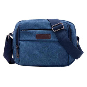 Canvas Shoulder Bag, Xjp Unisex Casual Crossbody Bag Messenger Bags