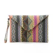 Xjp Women's Wristlets Envelope Clutch Handbag Tote Purse