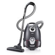 Princess Staubsauger with Beutel Silence Deluxe 700 EEK A grey, black