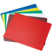 Tablecraft 30cm X 46cm Assorted Colours Flexible Cutting Mats