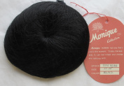 MONIQUE Craft HUMAN Hair DOLL WIG Style TEENY WEENY Fits Size 28cm - 30cm Colour BLACK