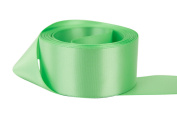 Ribbon Bazaar Double Faced Satin 10cm Mint 25 yards 100% Polyester Ribbon
