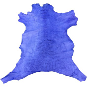 Genuine Leather Hide from New Zealand - Full Skin - Purple Colour - 0.6sqm - 2-90ml avg Thickness - Veg Tan Sheepskin - Improve The Look of Your Projects Now!