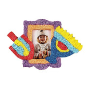 Zion Judaica Hanukkah Do-It-Yourself Wood Picture Frame with Putty