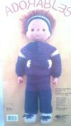 Adorables 16 Crochet Doll Kit Billy
