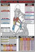 Elliptical Workout 60cm X 90cm Laminated Chart