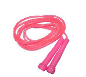 Rad Speed Skipping Jump Rope 3Mtr - Boxing Cardio MMA Sports For Unisex Pink/Pink Colour
