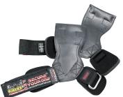 Lifting Grips PRO Weight Gloves Best Heavy Duty Straps Alternative to Power Hooks Deadlifts Adjustable Neoprene Padded Wrist Wrap
