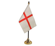 6x St George Hand Table or Waving Flag Englad St Georges Day Party Pack - No Bases