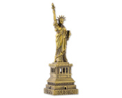 Dsstyles Metallic Statue of Liberty Model Statue Decoration - 18 cm