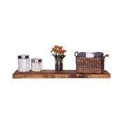 DAKODA LOVE Handmade Rustic Pine Wood Floating Shelf (Large)