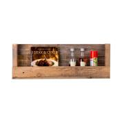 DAKODA LOVE - Texas Barnwood Shelf, USA handmade, Reclaimed Wood