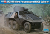 Hobby Boss 83889 - Model Kit M35 Medium Tank Trolley
