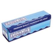BWK7124 Heavy-Duty Aluminium Foil Rolls, 46cm . x 150m, Silver