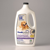 Fresh Solutions 2X Professional Strength Pet Stain and Odour Remover for Carpet & Upholstery Deep Cleaning Machines, Certified Safer Choice